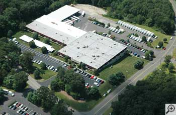 View from the sky of the Basement Systems international headquarters.