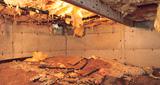 We repair wet, damaged crawl spaces in Long Island